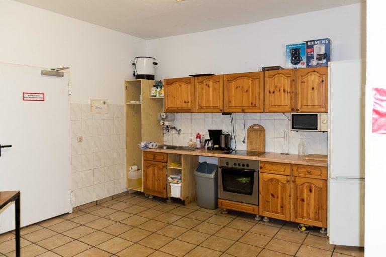 Küche (hier ist eine neue Küchenzeile in Planung)